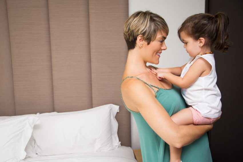 mama copil conectare