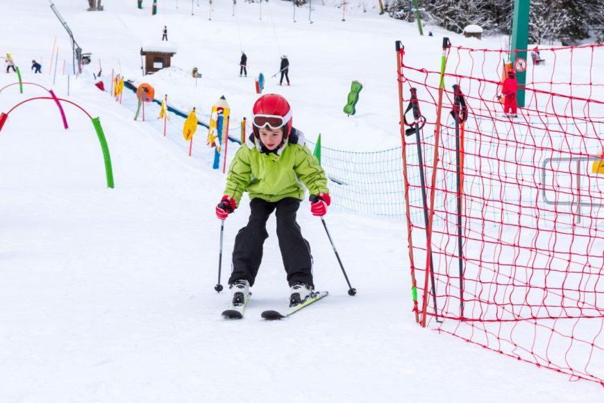 copil la ski