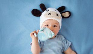 copil lapte cana
