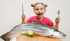 peşte potrivit pentru copii