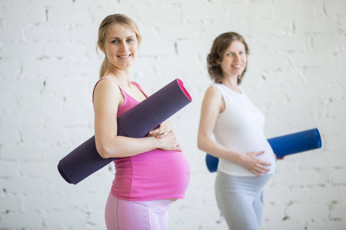 gimnastica la gravide