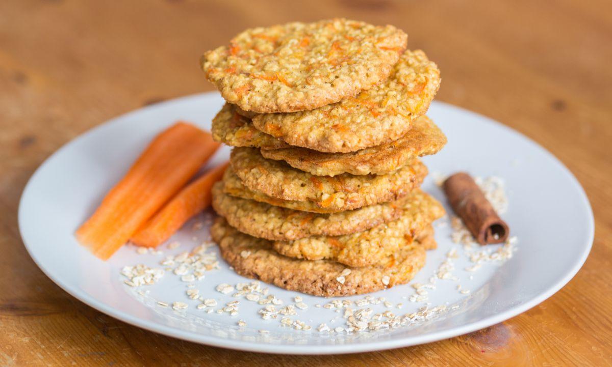 biscuiti cu ovăz și morcov