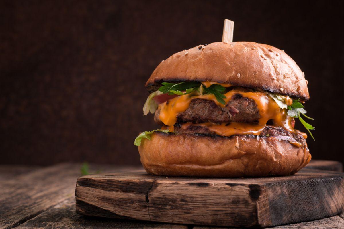 hamburger de casă