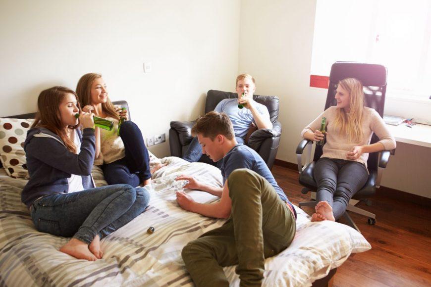 Consumul de alcool la adolescenți
