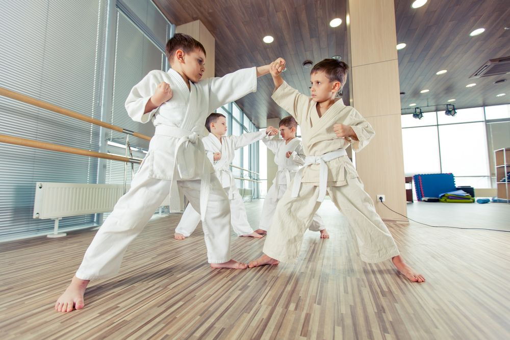 artele marțiale ajută copiii
