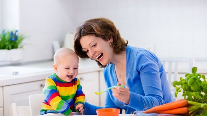 diversificarea la bebeluși