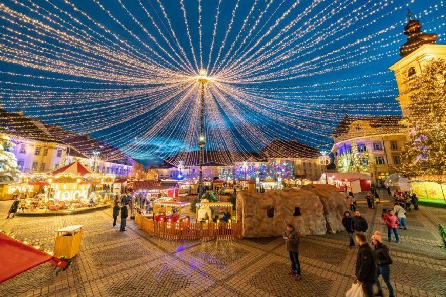 târguri de Crăciun din România