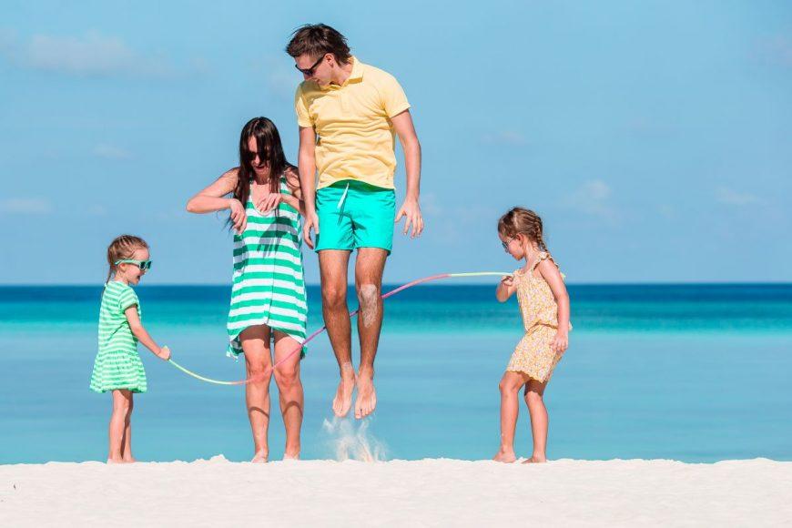 vacanța cu familia