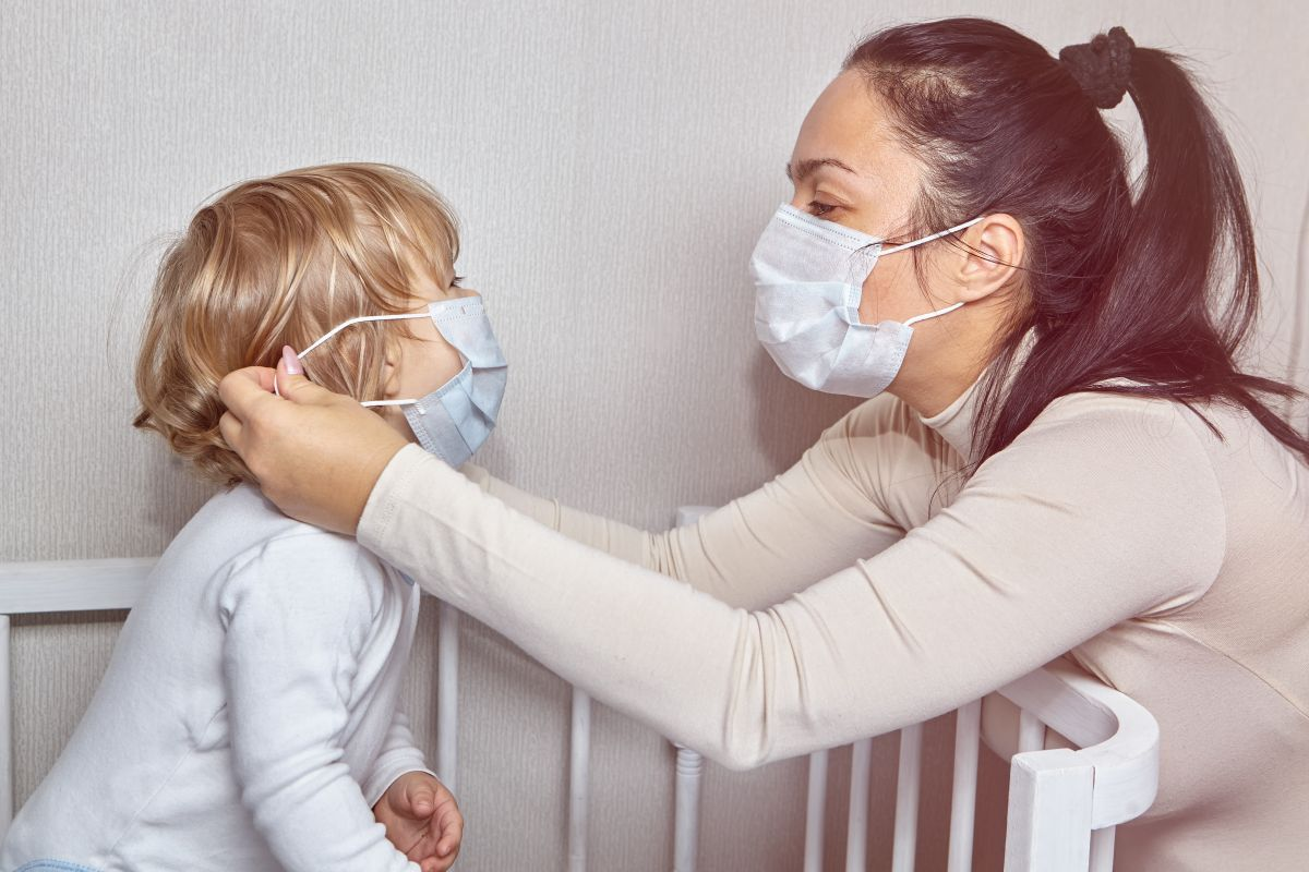 coronavirus la copil de un an