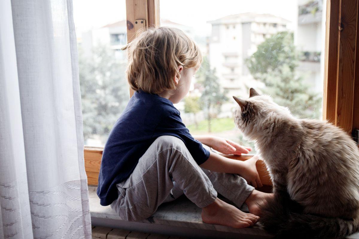 izolarea copiilor în case