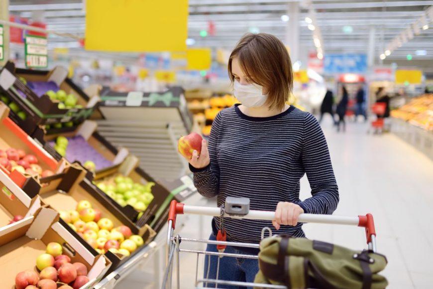 cumpărăturile în timpul pandemiei