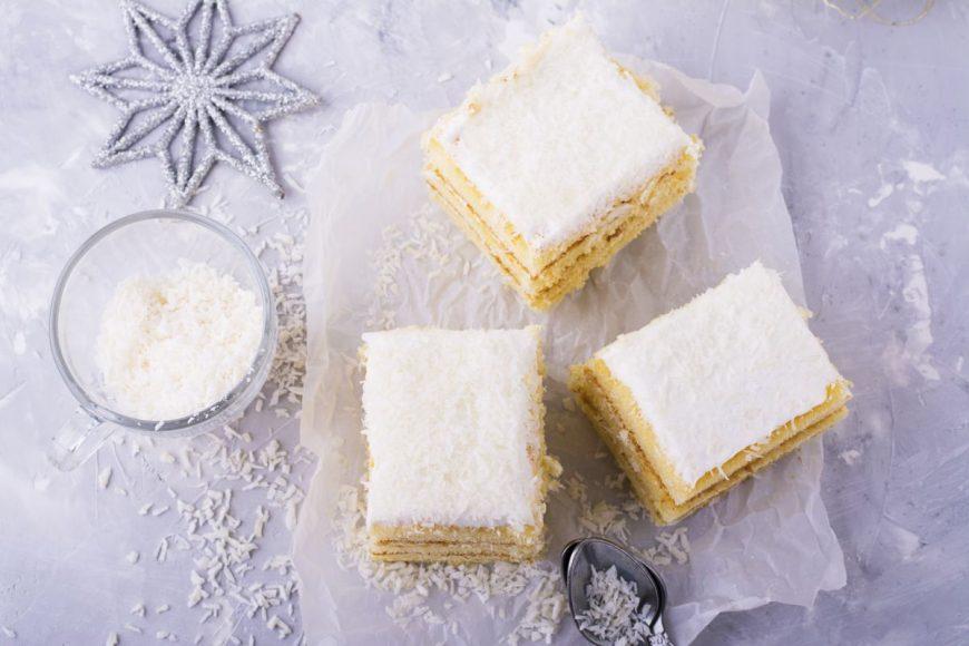 prăjitura albă ca zăpada