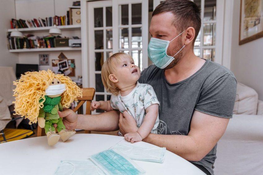 Cum protejăm copiii ce nu pot purta mască Covid 19