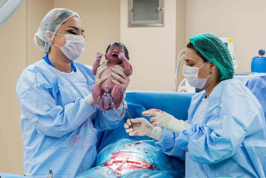 naștere prin cezariană