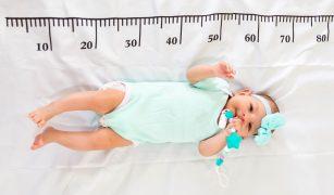 Grafic greștere bebeluș alăptat