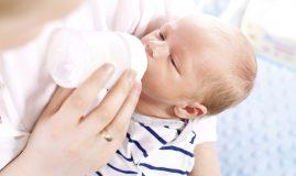 lapte praf nou născuți