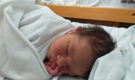 nou nascut la maternitatea din sighisoara