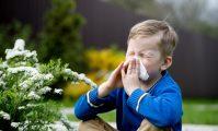 copil cu alergie la polen