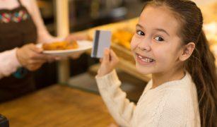 card bancar pentru copii