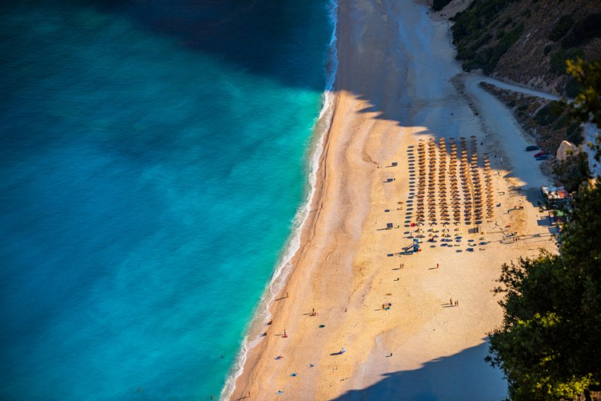 plaja myrtos din kefalonia