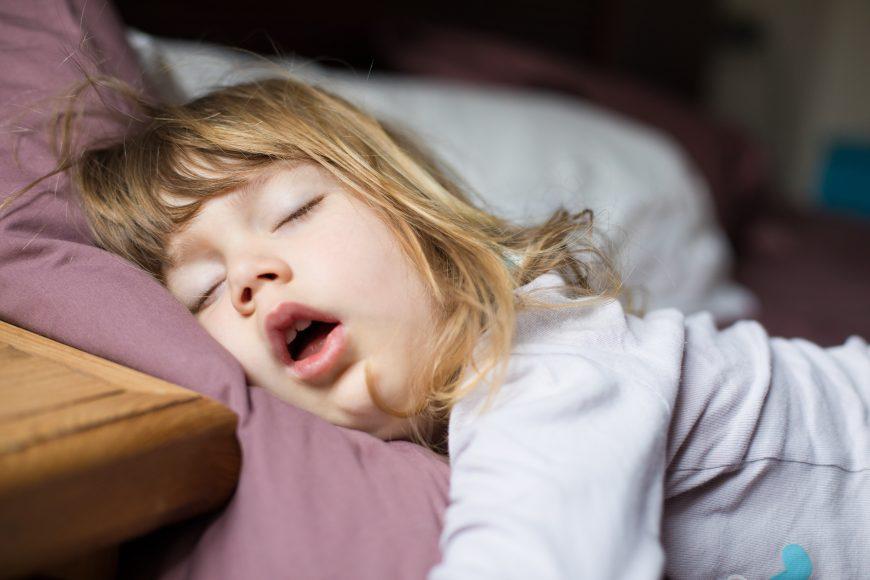 apnee în somn la copii