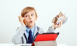 educație financiară pentru copii