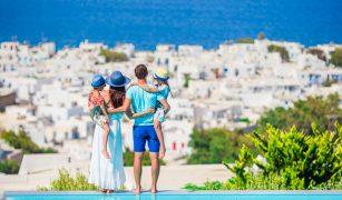 vacanță pentru familii în Grecia