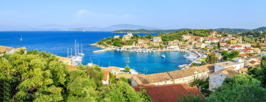 stațiunea Kasiopi din Corfu