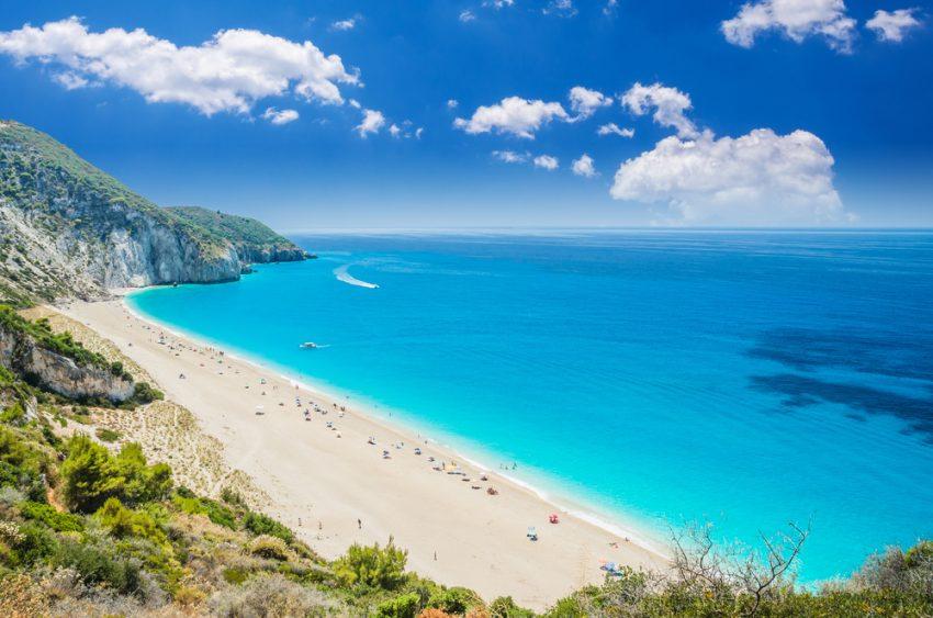milos beach din lefkada