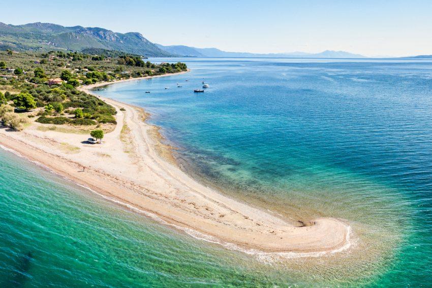 Plaja Kavos din Insula Evia
