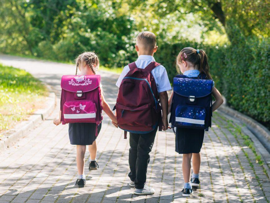 anul școlar 2021-2022 copii la scoala