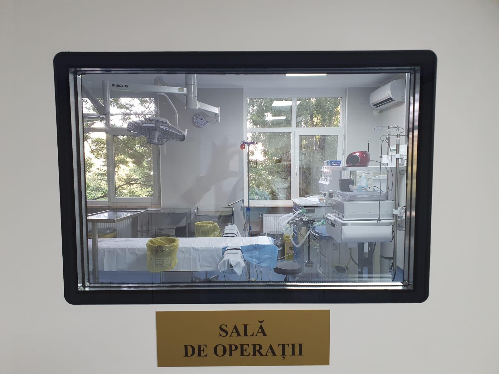 sala de operatii polizu cum arata