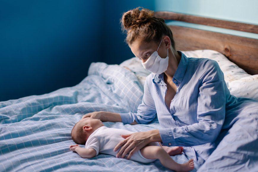 mama cu coronavirus