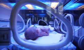 nou născut în in incubator